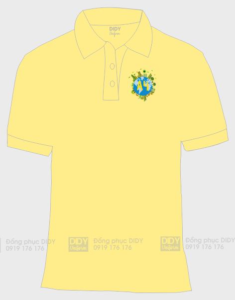 Áo lớp 12a4, áo lớp cổ bẻ