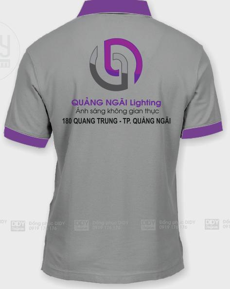 Áo thun đồng phục Quảng Ngãi Lighting