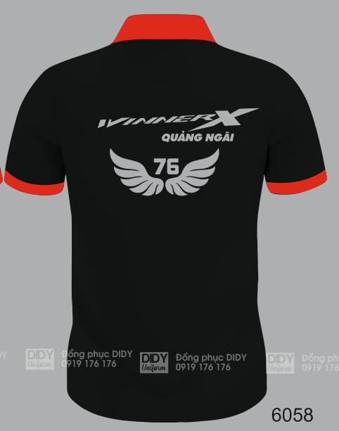 Đồng phục CLB Winner X - Honda